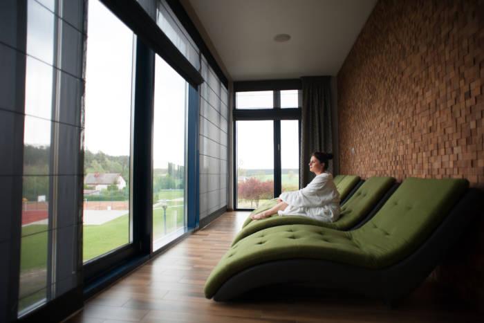 Odpoczynek w strefie relaksu