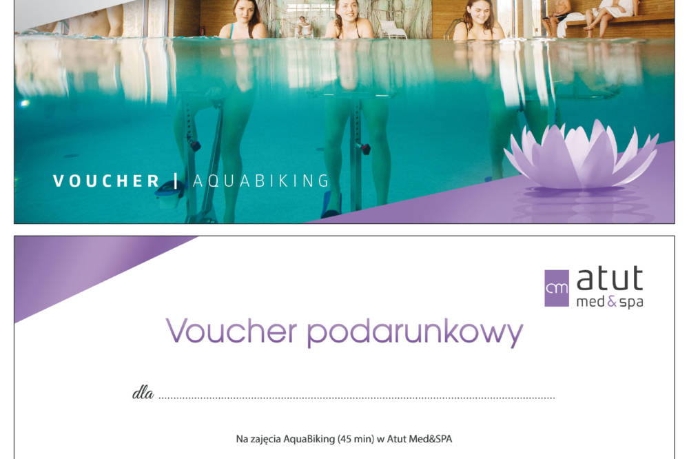 VOUCHERY Atut Med & Spa_AQUABIKING_razem